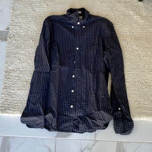 Men's JCREW long sleeve button down shirt
